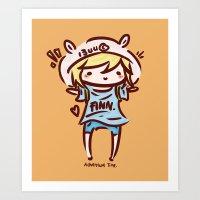 Finn The Human Art Print