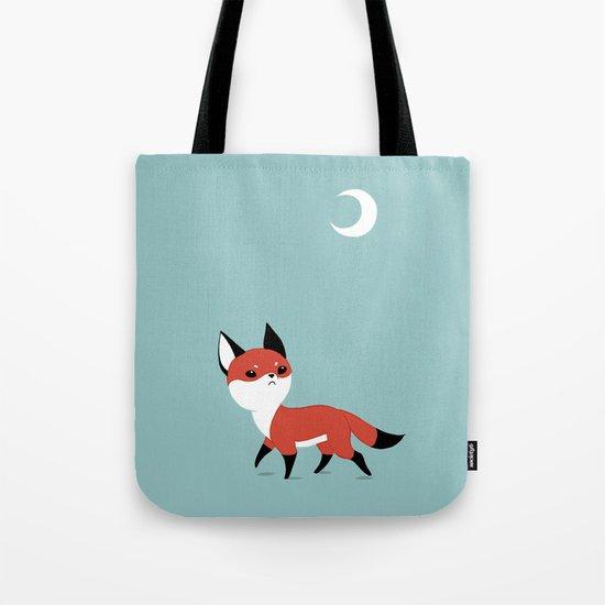 Moon Fox Tote Bag