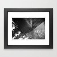 Water on Moma Framed Art Print