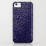 Gold Berry Branches On N… iPhone 5c Slim Case