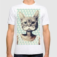 Kitten Mens Fitted Tee Ash Grey SMALL