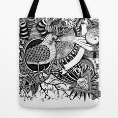 Blackbird's heart l Tote Bag