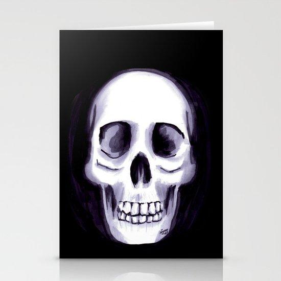 Bones V Stationery Card