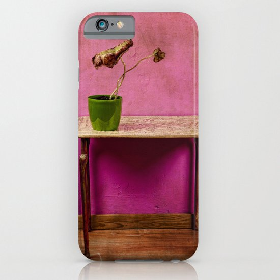 The colorful decay of plants iPhone & iPod Case