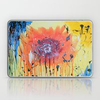 Bleeding poppy Laptop & iPad Skin