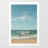 The Ocean of Joy Art Print