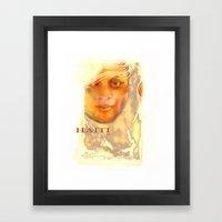 Haiti Portraits /06 / Se… Framed Art Print