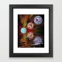 A New World Framed Art Print