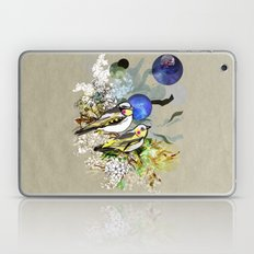 Yellow Birds Laptop & iPad Skin