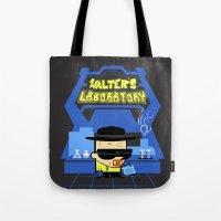 Walter's Laboratory  Tote Bag