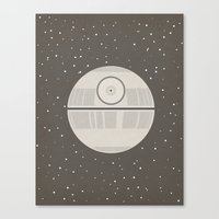 Death Star DS-1 Orbital Battle Station Canvas Print