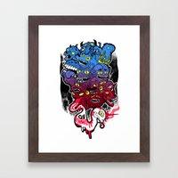B E A S T S Framed Art Print