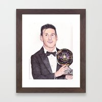 King Leo Ballon D'Or Bal… Framed Art Print