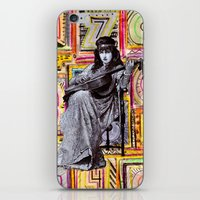 Guitarist In Time iPhone & iPod Skin