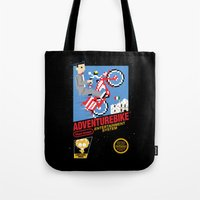 Adventurebike Tote Bag