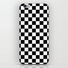 Checker (Black/White) iPhone & iPod Skin