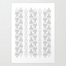 UFOlk 1 Art Print