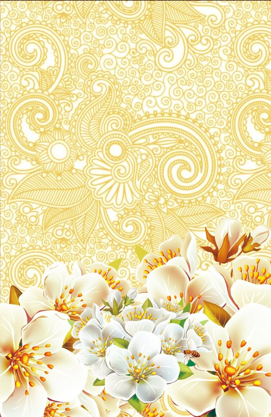 A Touch of Gold - for iphone Art Print