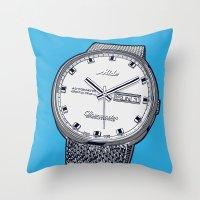 Mido Time! Throw Pillow