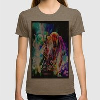 Just Dance! Womens Fitted Tee Tri-Coffee SMALL