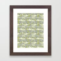 Dotted Fish Framed Art Print