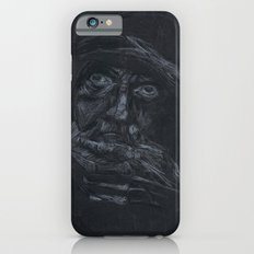 Black and white portrait  iPhone 6 Slim Case