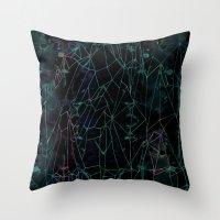 Crystal Peak Throw Pillow