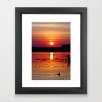 Good Morning.... Framed Art Print