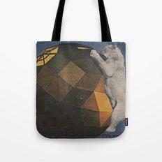 Big Cat Big Ball Tote Bag