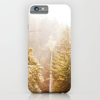 iPhone & iPod Case featuring OREGON GORGE WATERFALL by ArchiNERD