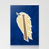 Buffalo Sky Bisons Stationery Cards