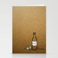 Booze Stationery Cards