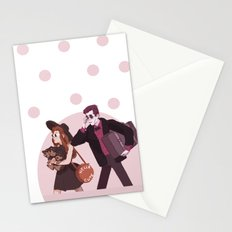 Cerberus the lap dog Stationery Cards