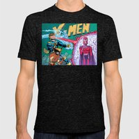 X-Men! Mens Fitted Tee Tri-Black SMALL