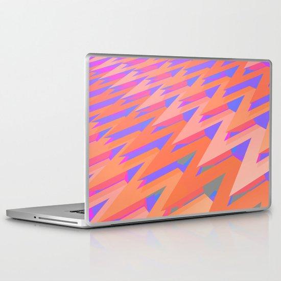 Pastel ZigZag Pattern Laptop & iPad Skin