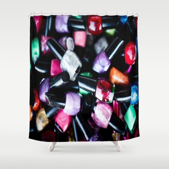 her options  Shower Curtain