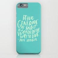 Pete Seeger iPhone 6 Slim Case