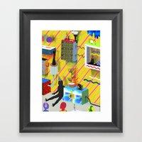 Annihilated Framed Art Print