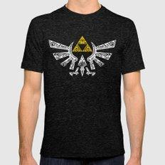 Zelda Hyrule Mens Fitted Tee Tri-Black SMALL