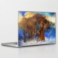twilight Laptop & iPad Skins featuring Twilight by Iris V.