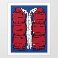 The McFly Art Print