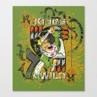 KINGS Canvas Print