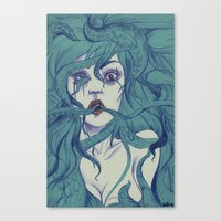 Octopus S.Y. Canvas Print