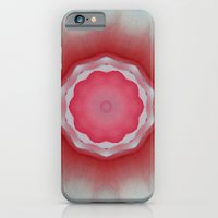 iPhone & iPod Case featuring Mandala with Petals by Pink grapes