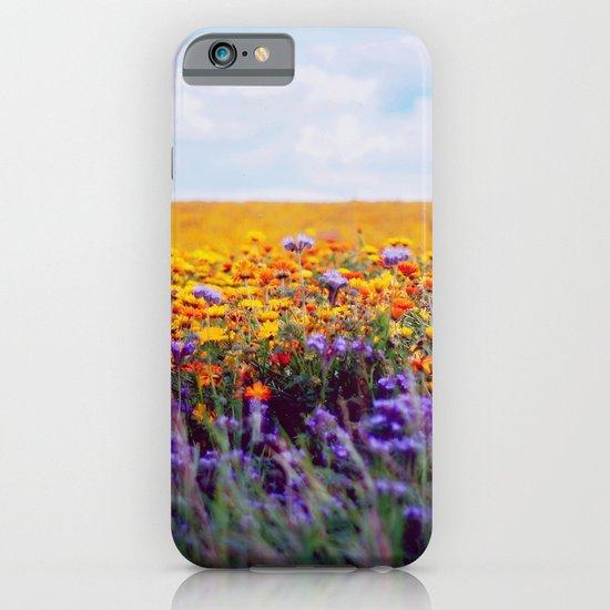 flower field iPhone & iPod Case