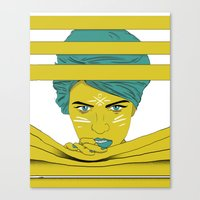 She's Always Watching  Canvas Print