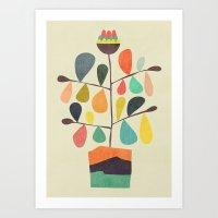 Potted Plant 4 Art Print