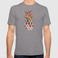 Tropicana Mens Fitted Tee Tri-Grey SMALL