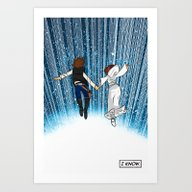 The Captain And The Prin… Art Print