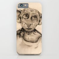 iPhone & iPod Case featuring Free Elf Full Length by MollyW